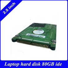 "Stock 2.5"" internal laptop hard disk drive HDD IDE 80GB 5400rmp 8mb cache"