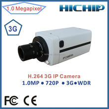 HICHIP HOT CMOS Megapixels 3G Wireless BOX Camera,720P WDR HD Box IP Camera built-in 3G wireless network module