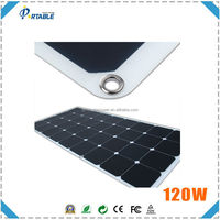 best price 100W/120W/150W flexible solar panel thin solar panel