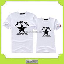 custom cheap fashion super star custom printed black t-shirt for fans