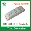 Shipping from China led transformert constant current led dimmable driver 30W 900mA