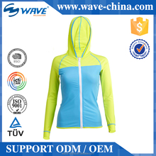 long sleeve women with hood design suit UV Sun Protection