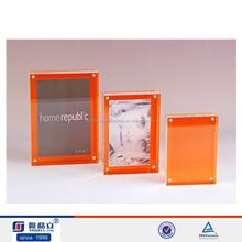 POP plastic phone frame acrylic photo frame