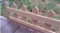 High quality garden fencing from China manufacturer AVID WPC
