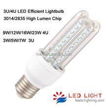 high brightness u shape smd 360 degree 5w led edison bulb