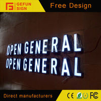 Manufacture of high quality acrylic Led Sign Letters for outdoor