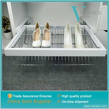 Compact modular lowes stackable shabby chic acrylic wood pallet shoe rack fittings