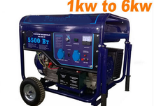 2kVA, 2.5kVA, 3.0kVA, 5.5kVA, 7kVA Home Power Honda Engine Electric Gasoline Generators