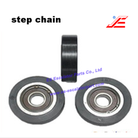 Escalator step chain roller D80*23*6204RS suitable for LG escalator spare parts