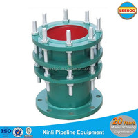 Ductile iron double flanged dismantling expansion joints for refined oil
