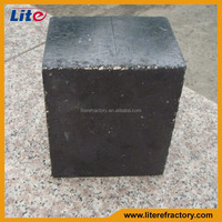 High Density Burned Refractory Firebrick Al2O3-SiC-C Fire Brick for Torpedo Car/Iron Ladle Work Lining