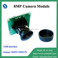 2015 newest design 8MP camera module with USB interface
