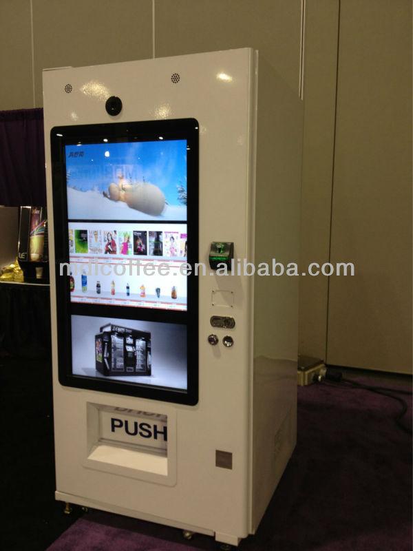 coke machine touch screen