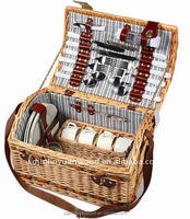 picnic basket for 2-4 people using ,welcome to order