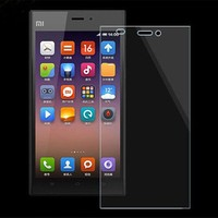 Factory price mobile phone 0.2mm/0.3mm color tempered glass screen protector for xiaomi