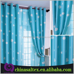 High Quality Beautiful Voile Printed Cheap Curtain Stock for Sale