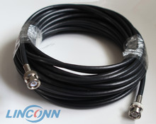 RG45 BNC to BNC plug connector cable for CCTV & Video & Audio