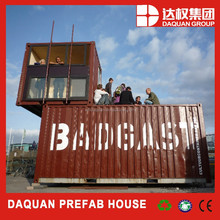 2015 wuhan daquan brand Reliable container house for Ticket Kiosk container kiosk containers for office with CE,ISO
