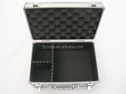 Multi-Purpose Tool case Foam camera case locking aluminum abs instrument case