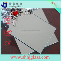 Haojing 1.5mm 2mm 2.5mm mirror and picture frame glaverbel glass with low price