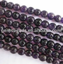 Gemstone Dark Aemthyst Nugget Beads