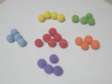 Flexible high density foam toy balls rubber bouncing ball