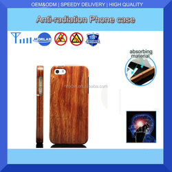 2015 New hand-made anti-radiation Metal wood protective phone cases for iPhone mobile case