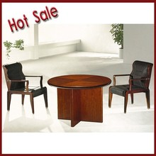 MDF and paper small round office meeting/ negotiation table for company
