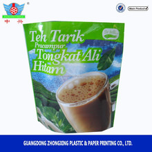 Instant coffee bag Milk tea bag stand up bag