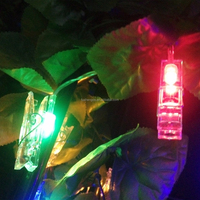2015 best selling custom fairy clips decorative lights string/ led battery string lights/ Ideal home party decoration