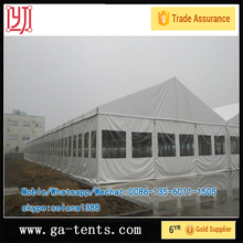 aluminium frame fire,water,sun proof pop up tent wholesale 850G/SQM top cover 650G/SQM sidewall
