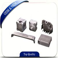 aluminum die casting parts as led light components with the most stringent quality inspection