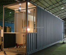 Light steel structure frame house/ low cost prefab house best price/prefab container house