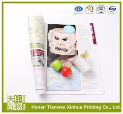 Premium quality magazine good magazine printing
