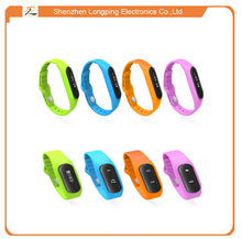 Smart concept E06 sport bracelet watch health bluetooth with IP 67 waterproof