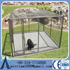 standard Large outdoor galvanised chain link pet enclosure/dog kennels & dog cage & dog runs