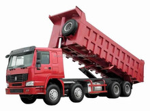 HOWO 8x4 12-wheels dump truck 371hp