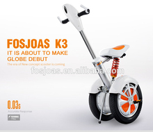 6-8h Charging Time Foldable Electric Scooter with seat for adults Fosjoas K3