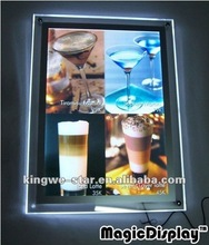 2012 most popular crystal led advertising light box