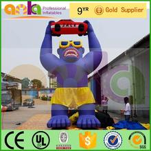high quality 3d inflatable animal mask with best choice