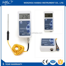 K type thermocouple temperature test instrument, digital display industrial thermometer for solid, liquid or gas