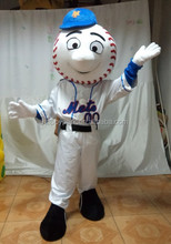 adult size mr met costume/ met mascot