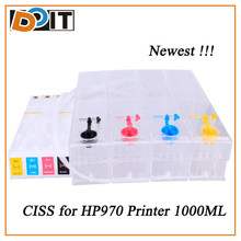 Newest Arrival products high volume 1000ml CISS for hp970 971