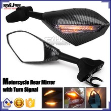 BJ-RM-016A Wholesale china motorcycle parts super bright arrow style LED motorcycle mirror turn signal