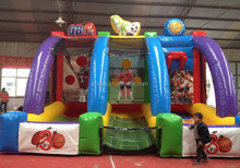 ADS 3 in one inflatable sports game for shooting game