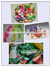candy transparent pet twist film