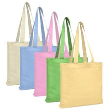Factory competitive price canvas shopping bag blank