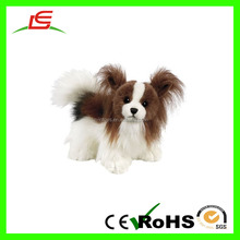 LE Wholesale White Vivid Make Stuffed Animal Dog For Furnish And Decorate