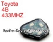 car remote key pad for car key remote control toyota rav4 used parts with 433mhz use for Camry,RAV4,Corolla,Highland and vios
