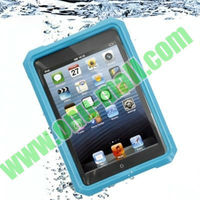 ABS+PET Material Waterproof Case for iPad Mini with 52cm Lanyard (IPX67)